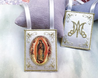 Our Lady of Guadalupe cloth scapular/home decoration.