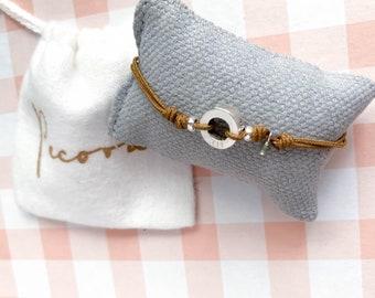 Small Eternity Bracelet RONDANITA/ personalized/ Sterling silver