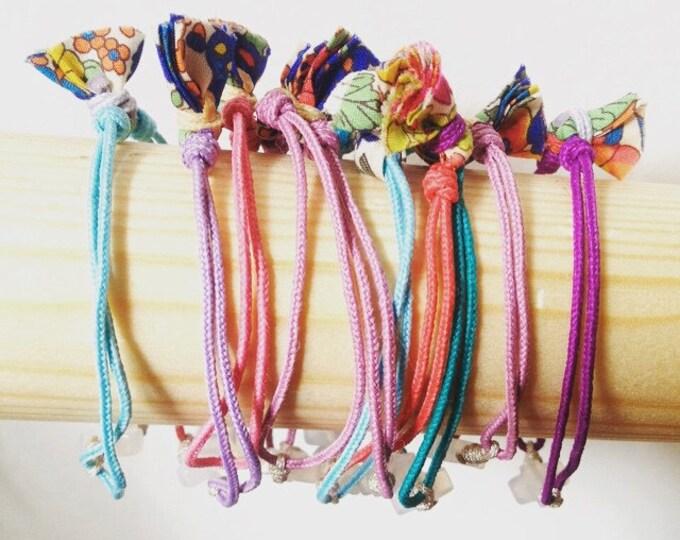 Agate Cross Bracelet for girls.