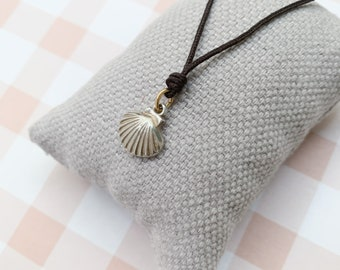Summer necklace/ St. James' Way Shell/ Sterling silver/girls/CAMINO