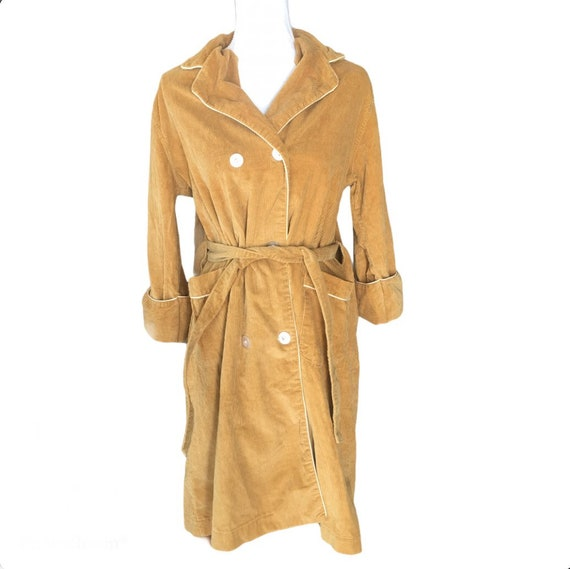 1950-60 /'s-straight Leopard trench coat double-breasted length and sleeves 34 typical 50s-60s-collector/'s!