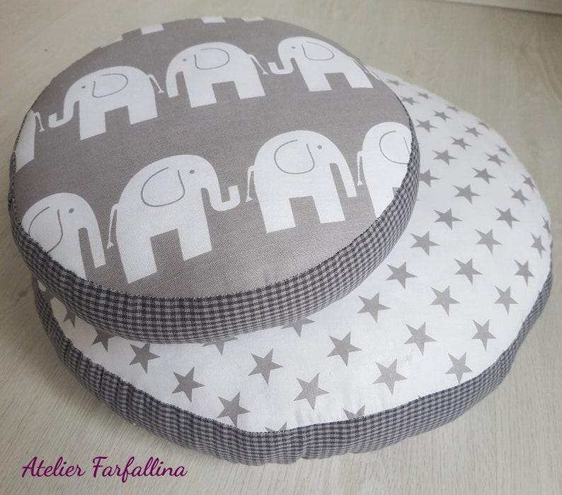 Large floor cushion seat cushion Elephant Star GRA
