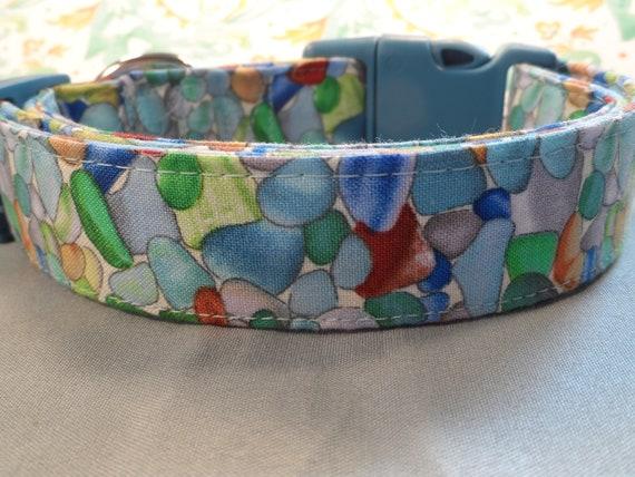 Collier de chien de mer plage de verre