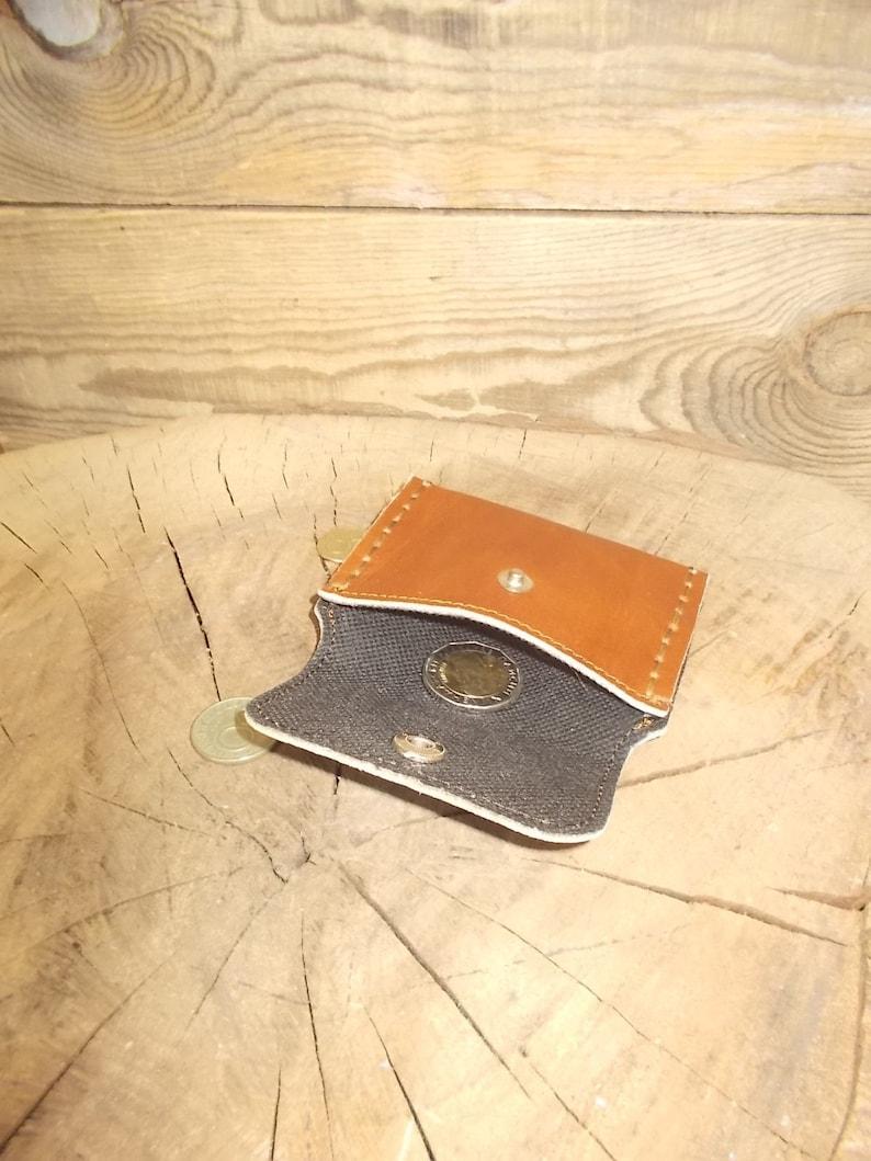 Men/'s leather wallet Business card case Leather card wallet Card  holder Coin purse Coin wallet leather Slim leather wallet Handmade