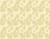 Kim Diehl Butter Churn Basics Creme Beige Spiral Vines, Henry Glass Fabrics by the Yard 6556 44