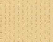 Kim Diehl Butter Churn Basics Feathered Dots On Beige With A Hint of Red, Henry Glass Fabrics by the Yard 6289 33