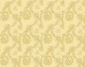 Kim Diehl Butter Churn Basics Beige Spiral Vines, Henry Glass Fabrics by the Yard 6556 33