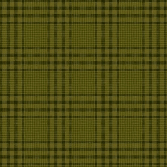Leaf Green Plaid With Black Stripes Yarn Dye Fall Home Decor, Pumpkin Farm Stacy West, Buttermilk Basin, Fabric by the Yard 2065Y 66
