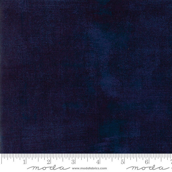 Grunge Basics Peacoat Dark Blue, Quilt Fabric by the Yard, 30150 353