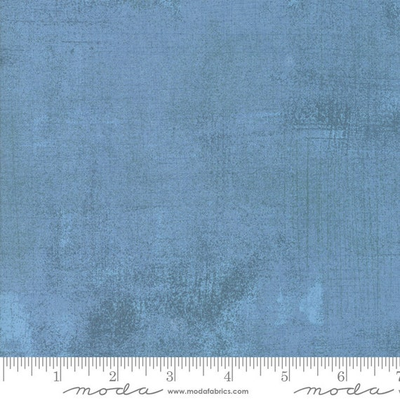Grunge Basics Faded Denim Blue, Quilt Fabric by the Yard, 30150 387