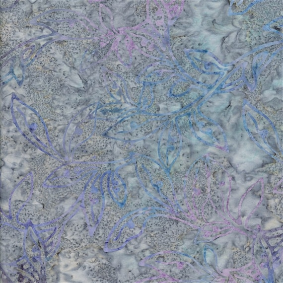 Light Blue Frost Malam Batik by Jinny Beyer for RJR Fabrics, Fabric by the Yard 2146 5