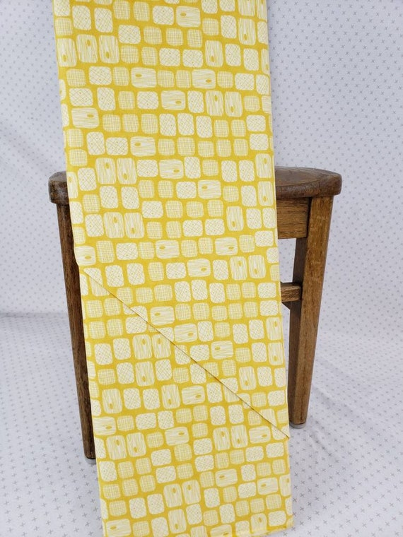 S'More Love Tree Bark Designs On Lemon Yellow Background, Designers Eric & Julie Comstock, For Moda Fabrics by the Yard  37076 12