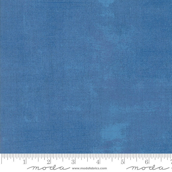 Grunge Basics Delft Blue, Quilt Fabric by the Yard, 30150 350