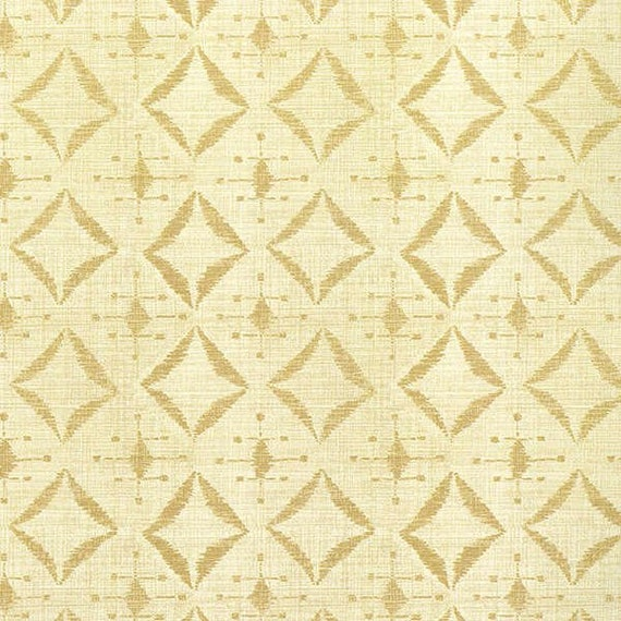 Indigo Nature Creme Diamonds On Cream For Wilmington Prints Quilt Fabric by the Yard, 44040 202