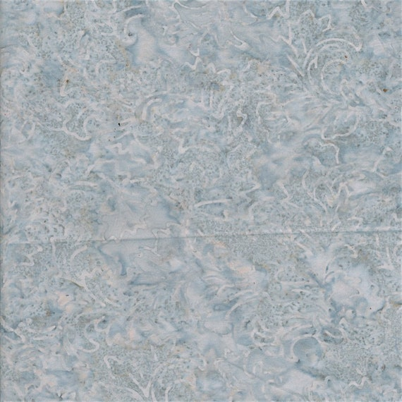 Light Frost Blue Marble Forest Frost Malam Batik by Jinny Beyer for RJR Fabrics, Fabric by the Yard 2142 6