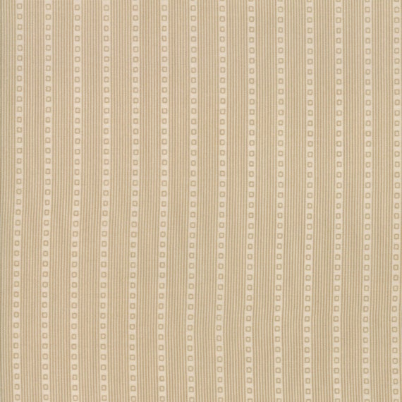 Vive La France Pearl, Creme Stripe Prints By French General For Moda Quilt Fabric by The Yard 13837 13