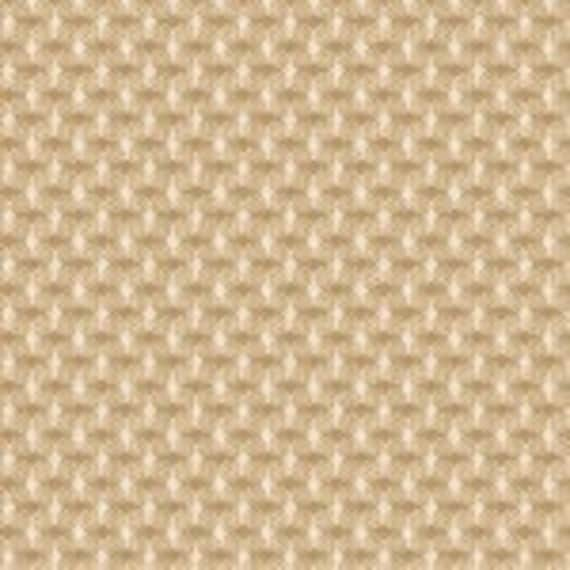 Diamond Cream Dobbie Yarn Dye Quilt Fabric by Stacy West of Buttermilk Basin, Soft Textured Shirting Fabric by the Yard 8899Y 44