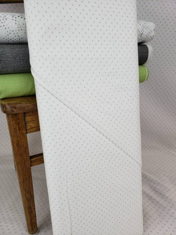 Modern Background Paper Silver White, Neutral Blender by Zen Chic for Moda Fabric by the Yard 1586 13