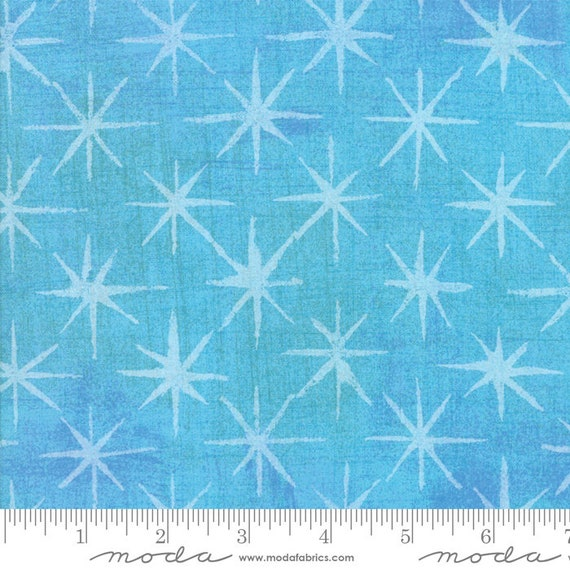Grunge Seeing Stars Sky Blue, Quilt Fabric by the Yard, 30148 37