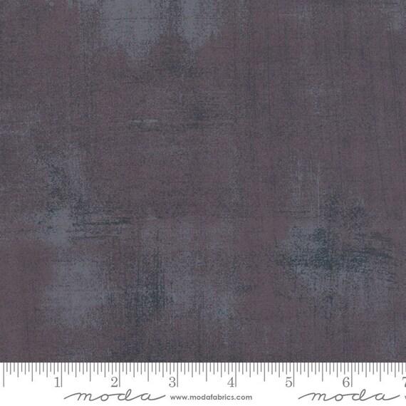 Grunge Basics Gris Fonce Grey, Moda Quilt Fabric by the Yard, 30150 277