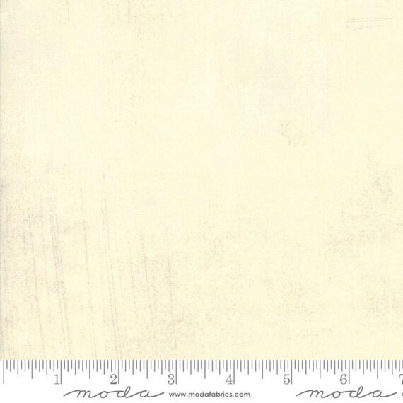 Grunge Basics Manilla Creme, Moda Quilt Fabric by the Yard, 30150 102