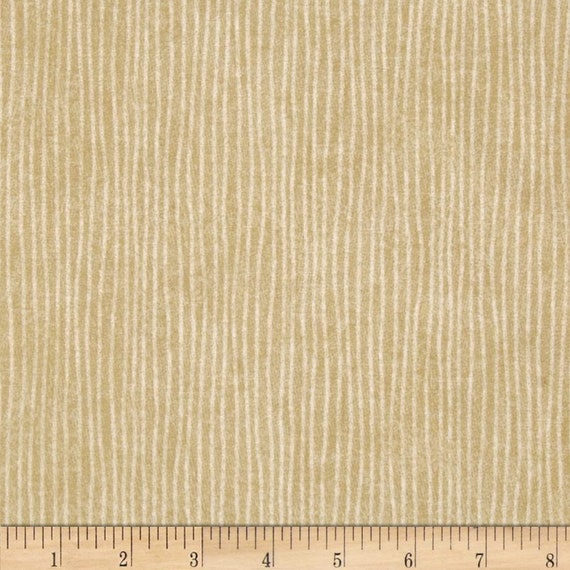 Beige Thin Stripe Background Shabby Chic Interplay By Nancy Heffron Quilt Fabric by the Yard For P&B Textiles. iply 685