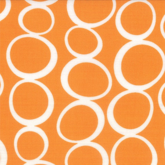 Orange Bubbles From Mixed Bag Collection By Studio M For Moda Fabrics by the Yard  32866 24