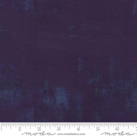 Grunge Basics Eggplant Purple, Moda Quilt Fabric by the Yard, 30150 245