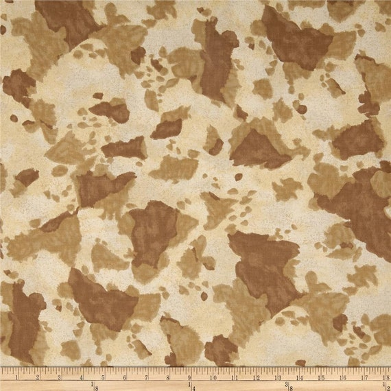 Tan Painted Pony Quilt Fabric by the Yard, Horseshoe Trail by Sara Khammash for Moda Fabrics 11217 20