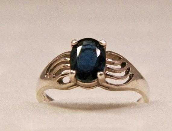 Statement Ring 925 Sterling Silver Oval Rhodolite Garnet Jewelry for Women Size 7 Ct 1.4