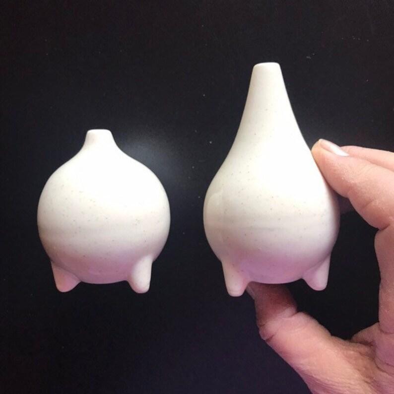 Blobs salt and pepper shaker set