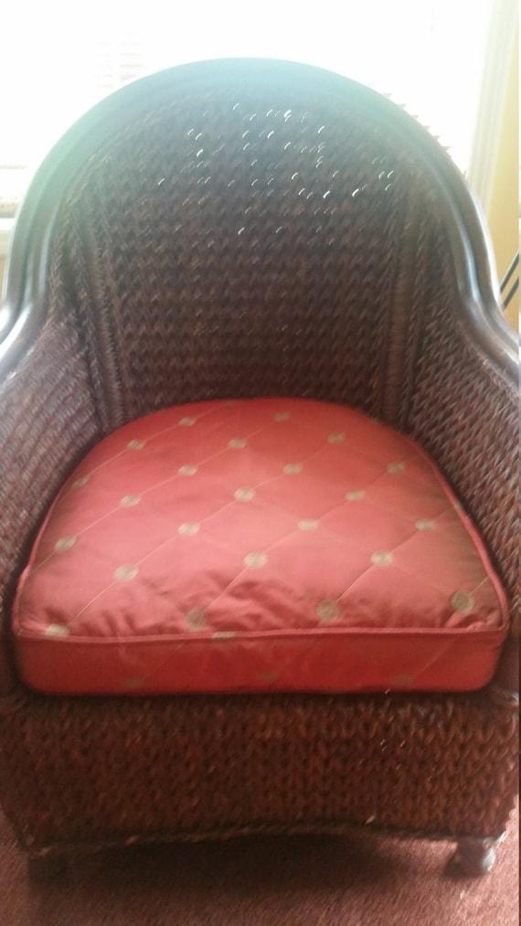 Chair Cushion Covers Wicker, Patio Furniture Cushion Covers