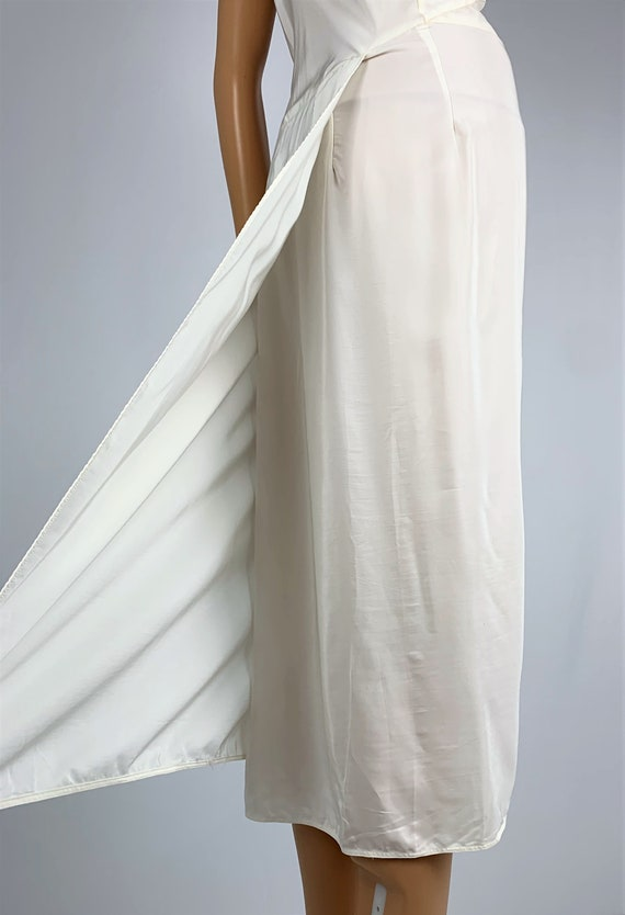Vintage 1940's/40's Lace & Rayon Slip Dress - image 6