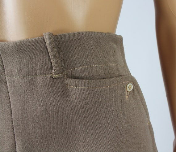 Vintage 1940s/40s High Waisted Wool Riding Pants - image 10