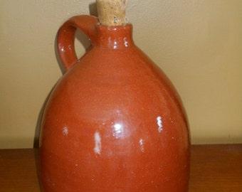 Vintage Sherbrooke Village Pottery, Nova Scotia Whiskey Jug