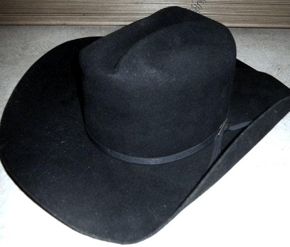 Men s Vintage Stetson Cowboy Hat Size 7 1 8  09b31239adc