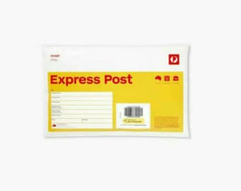 Express Post option for Endless Craft Supplies. Postage add on
