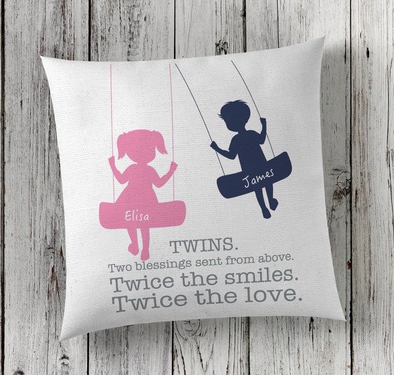 Twins Twins Gift Idea Mother Of Twins Twins Art Twins Etsy