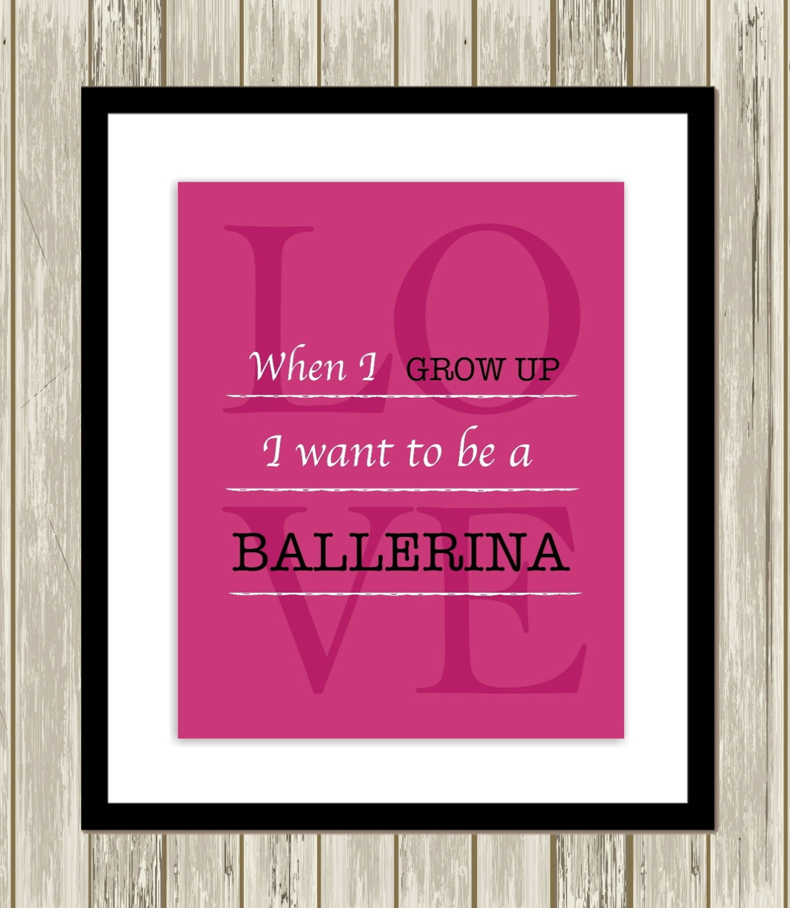 girls ballerina art, girls wall art, ballerina room wall art, ballet shoes, polka dot, pre teen girls room, girls posters, set o