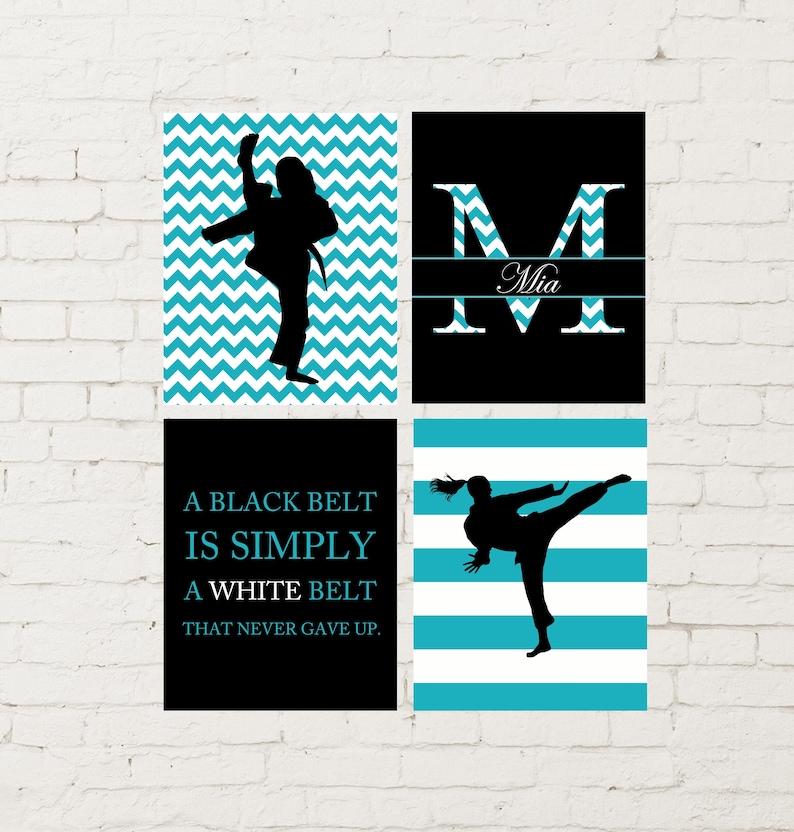 cd779efcbd5ffd Girls wall art karate girl wall art girls martial arts
