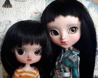 2 dolls Aiko custom Ooak Pullip and Keiko custom Dal doll by malkama