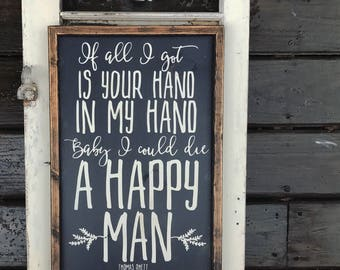 Custom Lyrics painted on Wood, Wedding Reception Décor, Wedding gift, Housewarming gift, engagement gift