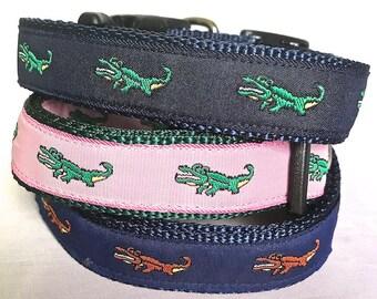 2ec9ff145767f Lacoste dog collar | Etsy