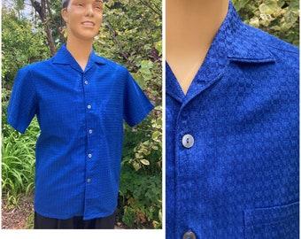 ORIGINAL VINTAGE COTTON Novelty Weave Men's Shirt