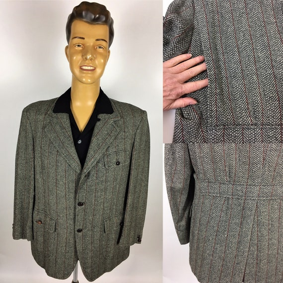 1950's BELT BACK JACKET