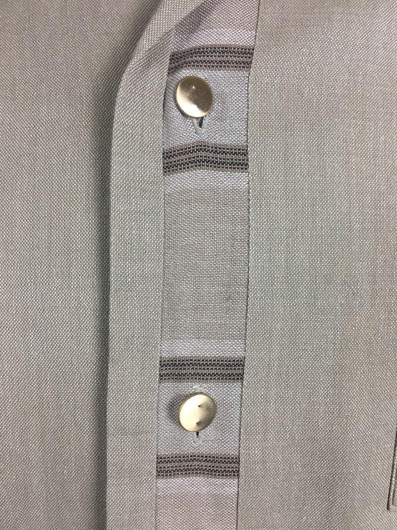 ORIGINAL 1950's MENS LEISURE Shirt - image 5