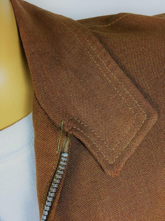 1950's LINEN RAYON RICKY Jacket - image 3