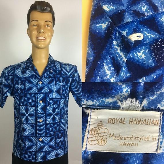 ORIGINAL 1950's 1960's ROYAL HAWAIIAN Aloha Print