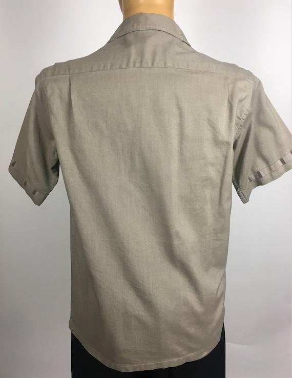 ORIGINAL 1950's MENS LEISURE Shirt - image 8
