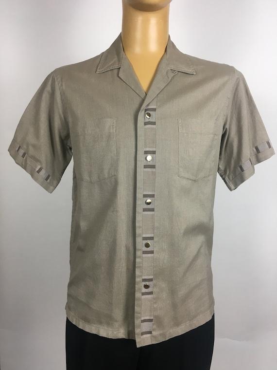 ORIGINAL 1950's MENS LEISURE Shirt - image 3